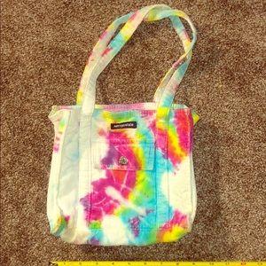 Aeropostale tie-dye vintage bag OOAK